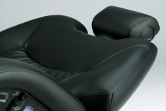 The Legends gentle curves, tapers to your customers neck and head for added support